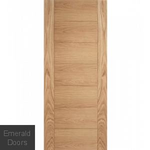 Carini Oak 7 Panel Internal Fire Door