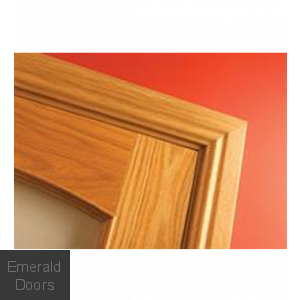 Ogee Profile Oak Architrave Fully Finished