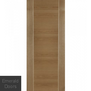 Contemporary Oak Mirage Fire Door