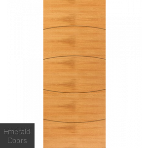 Contemporary Oak Sol Internal Door