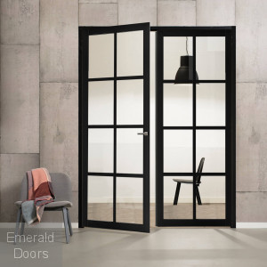 Industrial Style WK8136C Custom Made French Doors