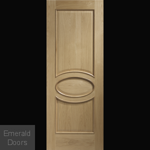 Calabria Oak Door with Raised Mouldings