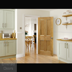Kingston Oak Fire Door