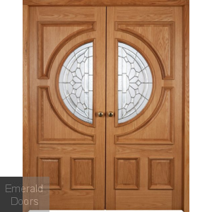 Empress Oak Doors Grand Entrance
