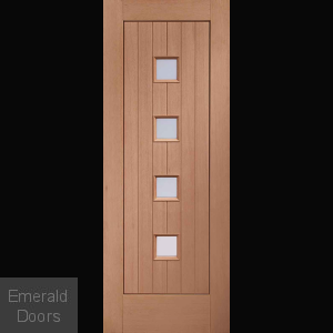 Siena Obscure Glazed Hardwood External Door