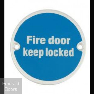 Fire Door Locked Symbol