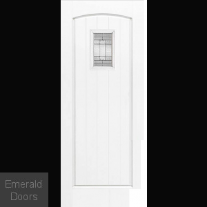 GRP White Cottage Composite External Door
