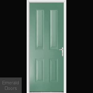 Richmond Forli Green External Fire Doorset