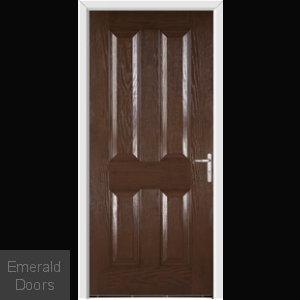 Richmond Redwood External Fire Doorset