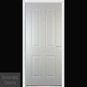 Richmond White External Fire Doorset