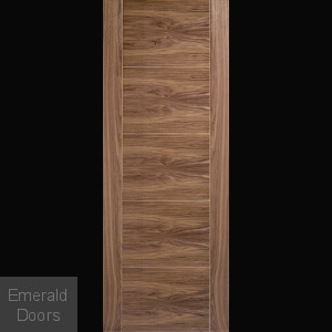 Contemporary Walnut Maya Internal Door