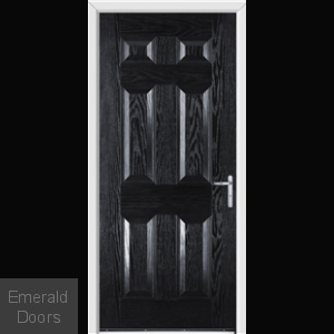 Warwick Black External Fire Doorset