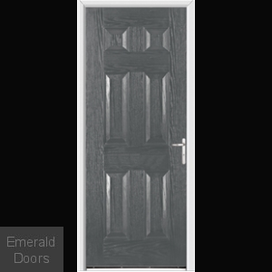 Warwick Grey External Fire Doorset