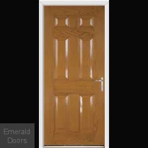 Warwick Oak External Fire Doorset