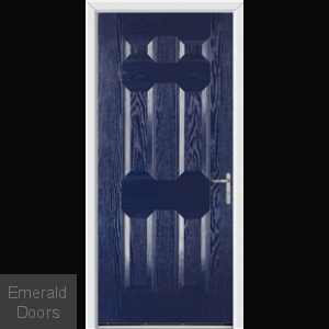 Warwick Blue External Fire Doorset