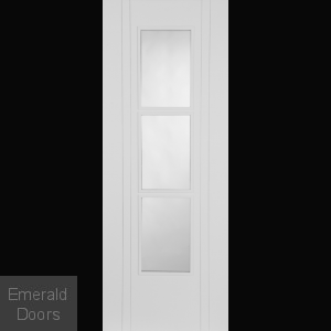 Capri White 3 Light Glazed Internal Door