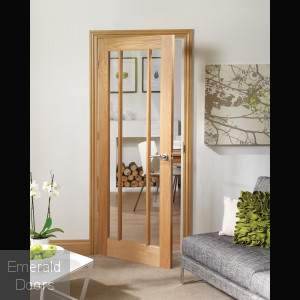 Custom Made Worcester Glazed Fire Door
