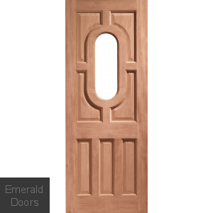 Acacia Unglazed Dowelled External Door