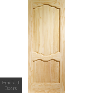 Clear Pine Louis Internal Door