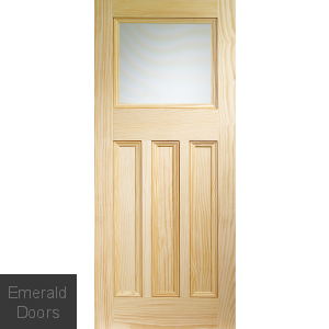 Vine DX Internal Vertical Grain Clear Pine Door