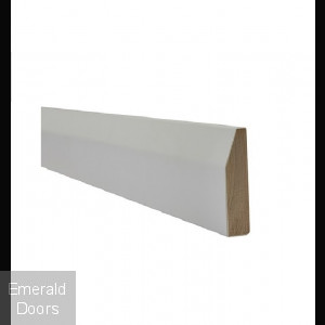 White Chamfered Architrave