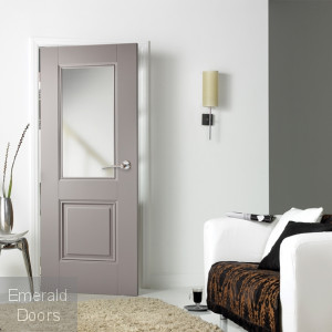 Grey Arnhem 1 Light Internal Door Roomset