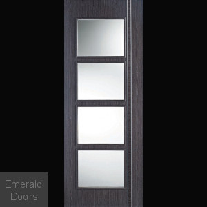 Contemporary Zanzi 4L Clear Glazed DOOR
