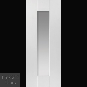 Axis White Glazed Door