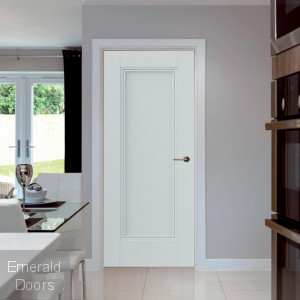 Belton 1 Panel Internal Door with Decorative Mouldings