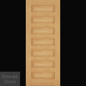 Biarritz Oak 7 Panel Interior Door