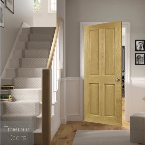 Bury Internal Oak Door Fully Finished