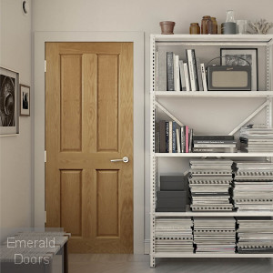 Bury Oak Prefinished Internal Fire Door