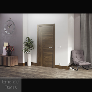 Cadiz Walnut Internal Door Prefinished