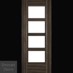 Calgary Abachi Unglazed Fire Door