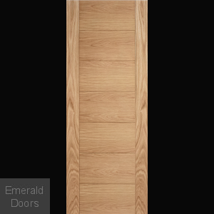 Carini Oak 7 Panel Internal Door