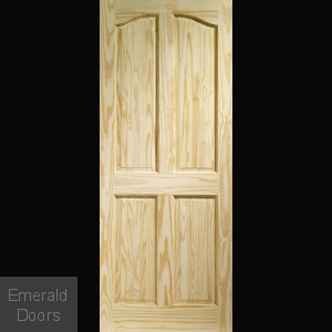 Rio 4 Panel Clear Pine Internal Door