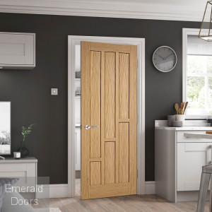 Coventry Oak Door In Situ