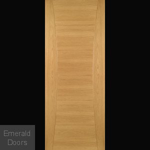 Pamplona Fire Door Oak Fully Finished