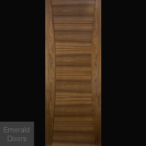 Pamplona Walnut Fire Door Prefinished