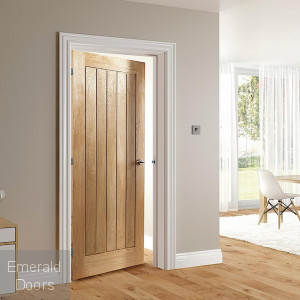Ely Oak Fire Door