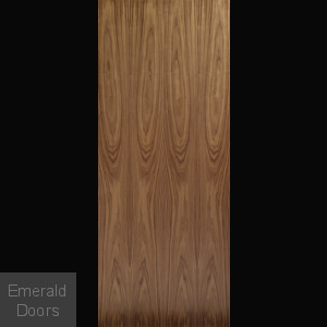 Flush Walnut Fire Door FD30