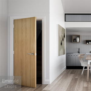 Galway Oak Fire Door
