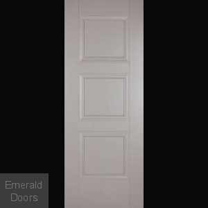 Amsterdam 3 Panel Grey Internal Fire Door