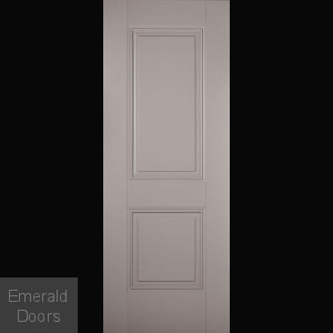 Grey Arnhem 2 Panel Fire Door