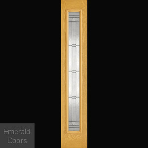 GRP Elegant Oak Composite External Sidelight