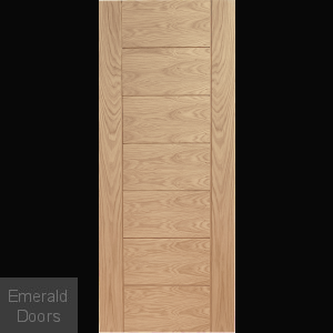 Palermo Pre-Finished Oak Fire Door