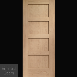 Shaker Prefinished Oak Door