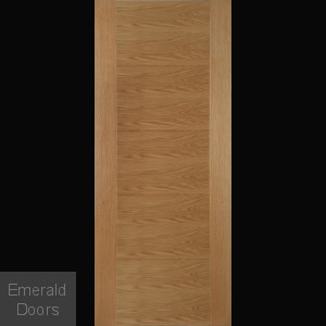 Contemporary Oak 6500 Fire Door