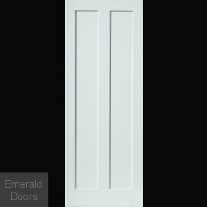 Barbados White Fire Door