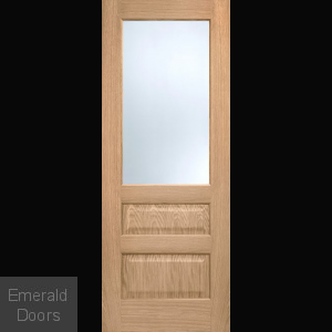 Kershaw Oak Glazed Door Fully Finished